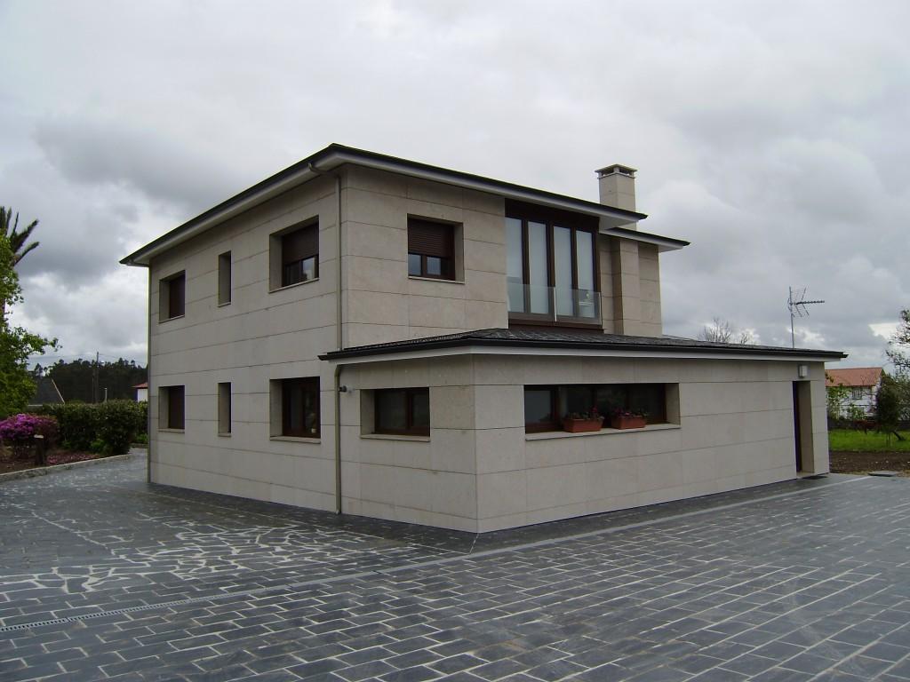 Foto de reforma de fachada ventilada