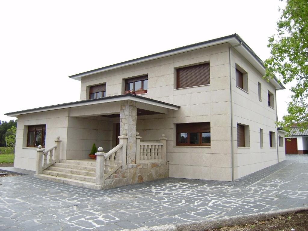 Foto de fachada ventilada