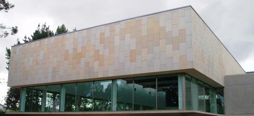 Materiales en fachadas ventiladas caliza y m rmol - Fachadas ventiladas de piedra ...